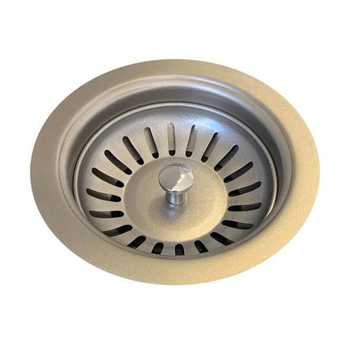 Meir Sink Strainer and Waste Plug Basket with Stopper - Brushed Nickel online | Bathroom Warehouse