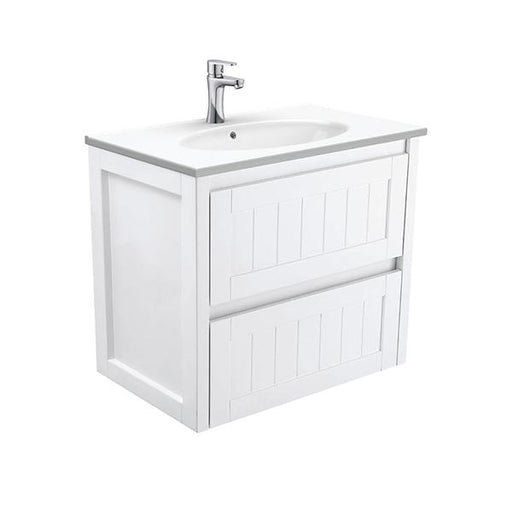 Fienza Rotondo Hampton Wall Hung Vanity 750mm Online | Bathroom Warehouse