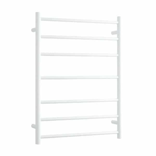 Thermogroup 7 Bar Thermorail White Satin Heated Towel Ladder at Bathroom Warehouse