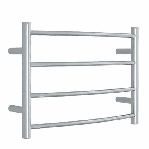Thermogroup 4 Bar Thermorail Curved Heated Towel Ladder 600 x 420 x 150 online at Bathroom Warehouse