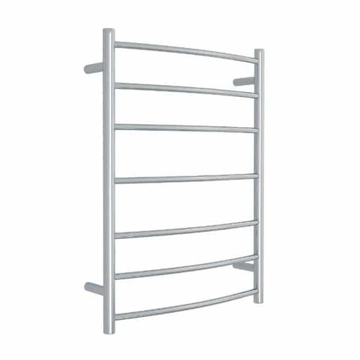 Thermogroup 7 Bar Thermorail Curved Heated Towel Ladder 600 x 800 x 150 online at Bathroom Warehouse