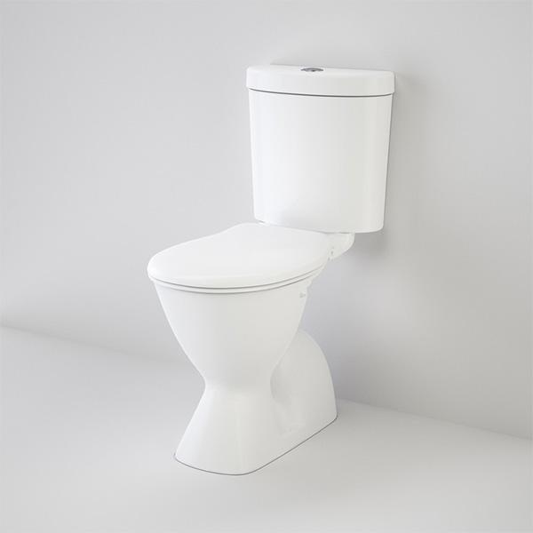 Caroma Profile 4 Easy Height Connector Toilet Suite | Bathroom Warehouse