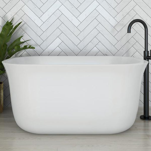 Decina Lindo 1300mm Freestanding Bath. Japanese style soaker baths online | Bathroom Warehouse