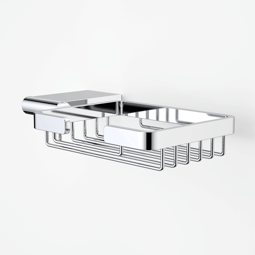Dorf Enigma Soap Dish chrome | Bathroom Warehouse