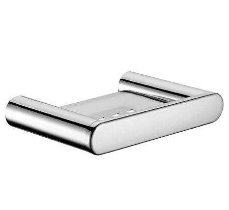 Momento Fluid Soap Dish Chrome - Bathroom Warehouse