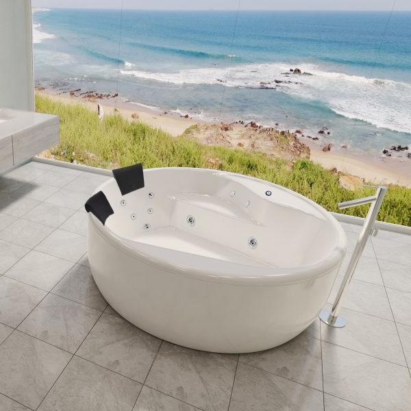 Decina Orion Circle Freestanding Spa Bath | Bathroom Warehouse