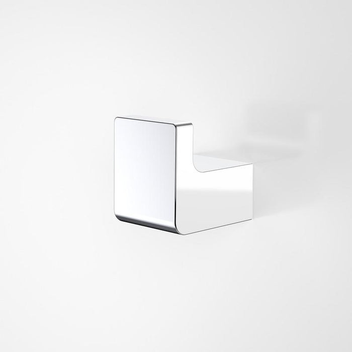 Dorf Motif Robe Hook - chrome | Bathroom Warehouse