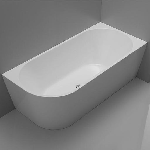 Cee Jay Back to Wall Freestanding Right Corner Bath | Bathroom Warehouse