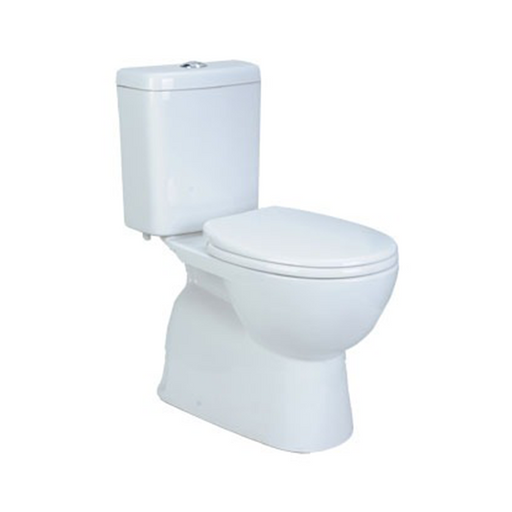 Decina Novara Ezi Height Rimless Close Coupled Toilet Suite | Bathroom Warehouse