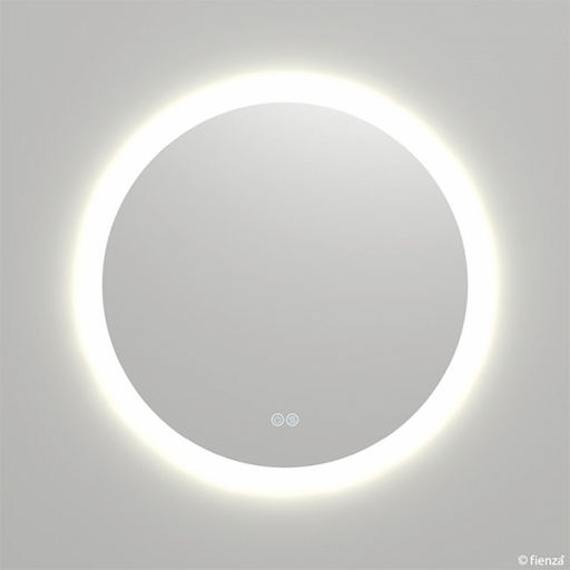 Fienza Kaya Round LED Mirror with Touch Sensor & Demister | Bathroom Warehouse