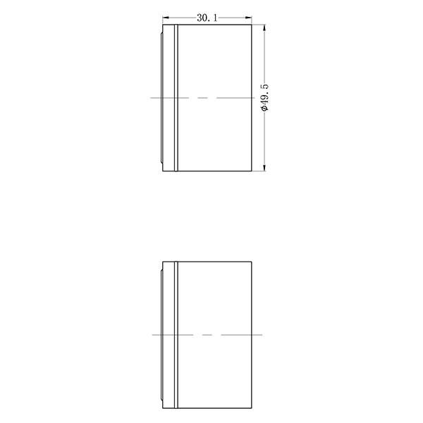 Nero Kara Wall Top Assemblies Technical Drawing | Bathroom Warehouse