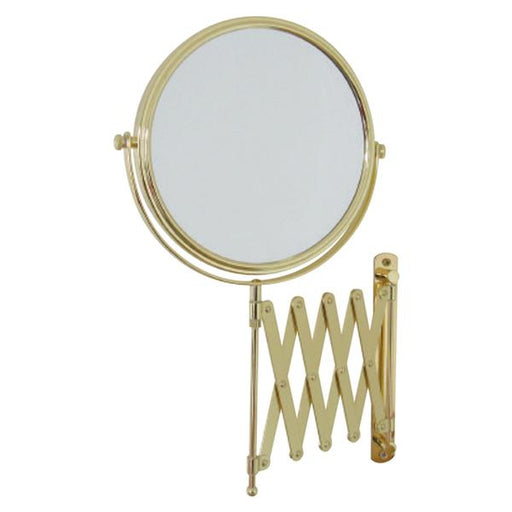 Thermogroup Ablaze 1 & 4x Magnifying Mirror - Polished Gold at Bathroom Warehouse