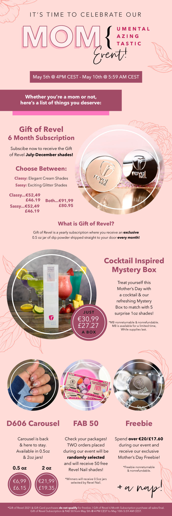Gifts for Mom | Mother's Day Event | Revel Nail Dip Powder