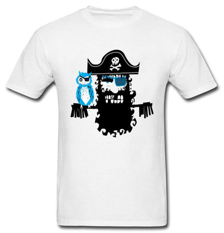 T Shirt Pirate Perroquet