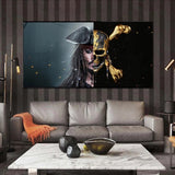 Tableau Pirate <br /> Fresque