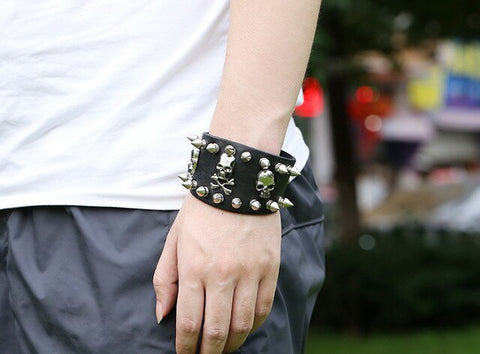 Bracelet Pirate <br /> Punk
