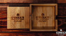 Load image into Gallery viewer, O'SHEA'S WOODEN COASTERS