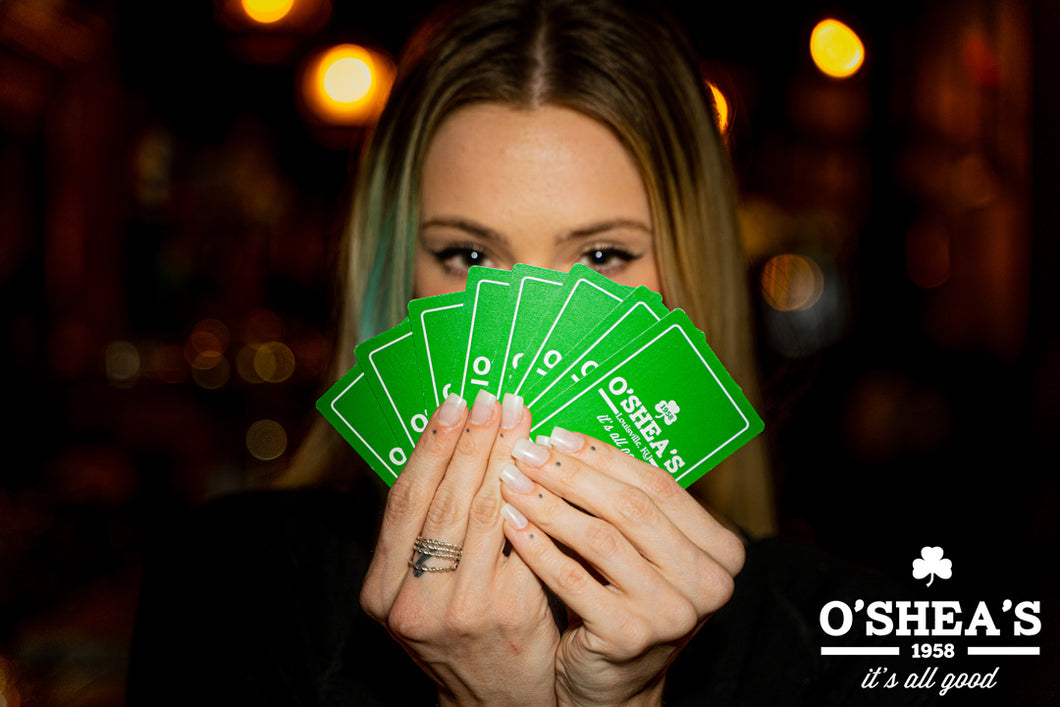 O'SHEA'S PLAYING CARDS