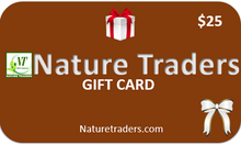 Load image into Gallery viewer, Nature Traders Gift Card $10
