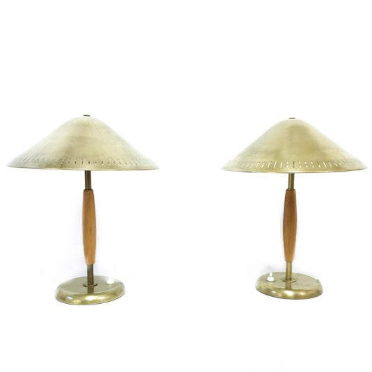 TABLE LAMPS BY HARALD NOTINI FOR BÖHLMARKS