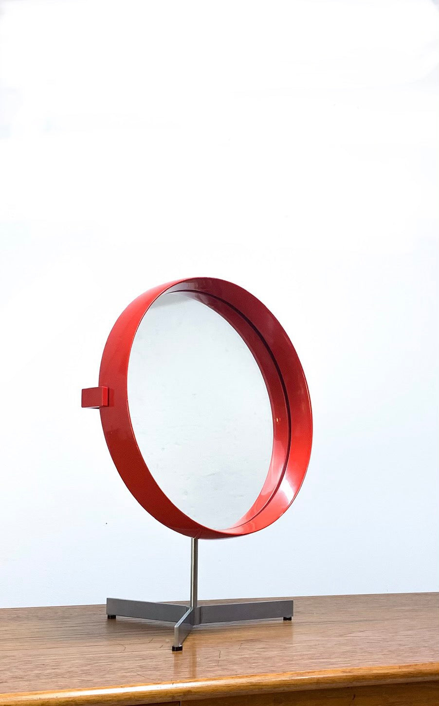 "RARE TABLE MIRROR ""MODEL 417"" BY LUXUS"