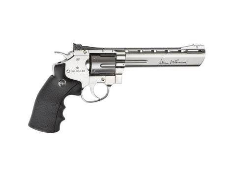 ASG - Dan Wesson - Silver Revolver 6 inch (Reduced FPS) - Airsoft INC. ® store