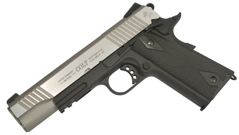 Cybergun - Colt 1911 CO2 Rail Gun Dual Tone - Airsoft INC. ®