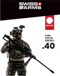 Swiss Arms - 0.40 gram BB wit - Airsoft INC. ®