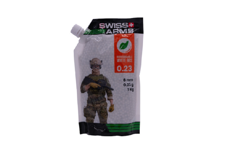 Swiss Arms - BIO BB's 0.25 gram wit - Airsoft INC. ®
