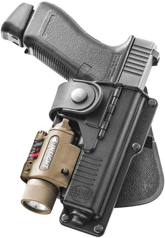 Fobus - Left Handed Flashlight Holster Glock 19