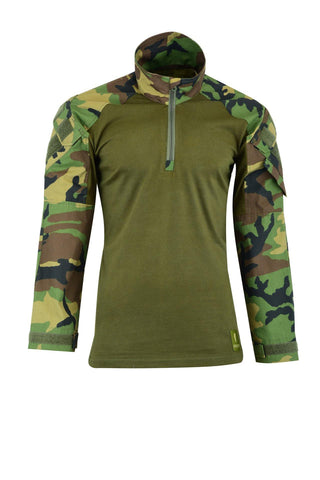 Shadow Strategic - Hybrid Tactical Shirt - Woodland Camo - Airsoft INC. ®