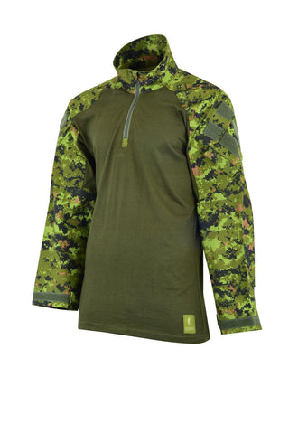 Shadow Strategic - Hybrid Tactical Shirt - Woodland Digi - Airsoft INC. ®
