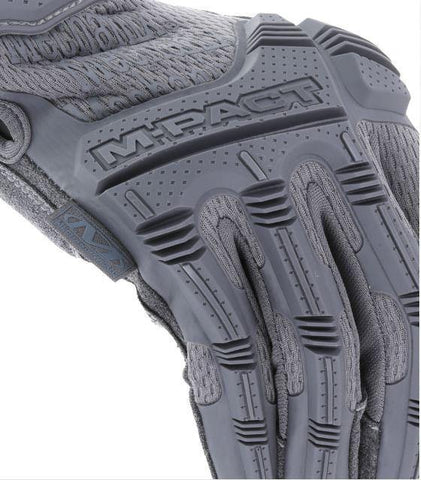 Mechanix - M-Pact Gloves Wolf Grey - Airsoft INC. ®