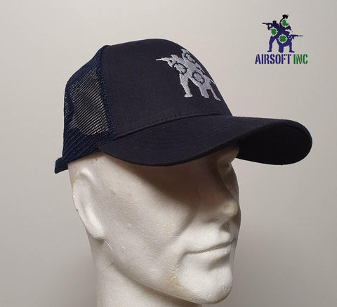 Airsoft INC. Casual cap Navy Mesh - Airsoft INC. ®