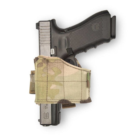 Warrior - Universal Pistol Holster Links handig