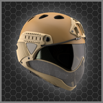 WARQ - Full Face Helmet - Airsoft INC. ®