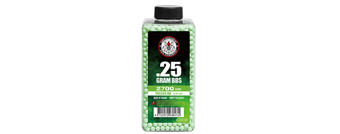 G&G Armament - 0.25 gram Tracer BB's Green - Airsoft INC. ®