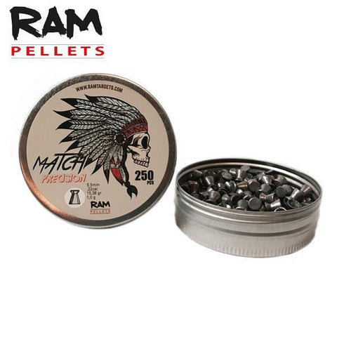 RAM - Match Precision pellets 5.5mm - Airsoft INC. ®