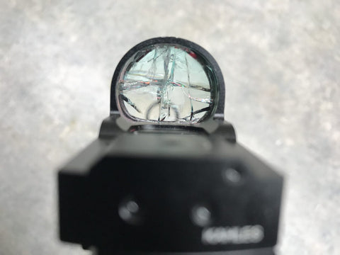 Scope protector glas - diverse diameters