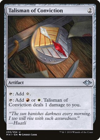 Talisman of Conviction [Modern Horizons] | Tabletop Gaming Center