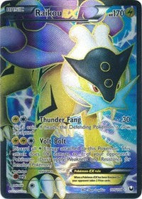 Raikou EX (105 Full Art) (105) [Dark Explorers] | Tabletop Gaming Center