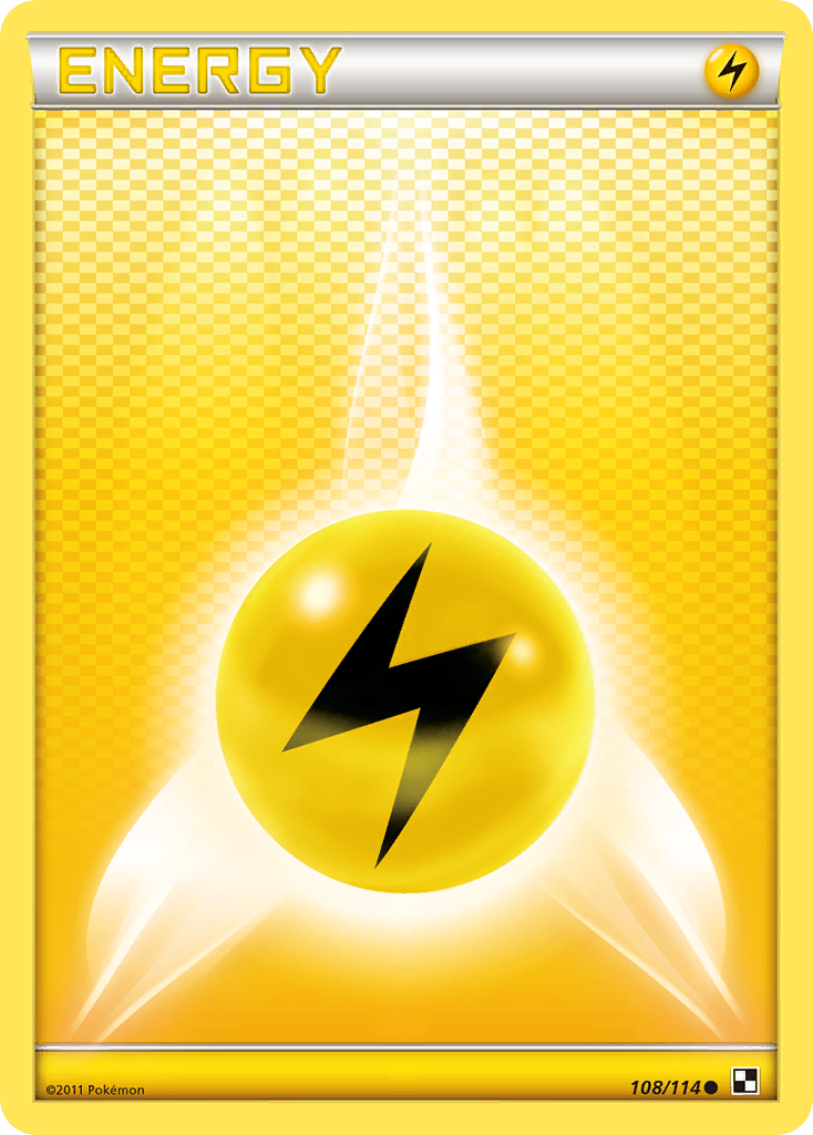 Lightning Energy [Black & White] | Tabletop Gaming Center