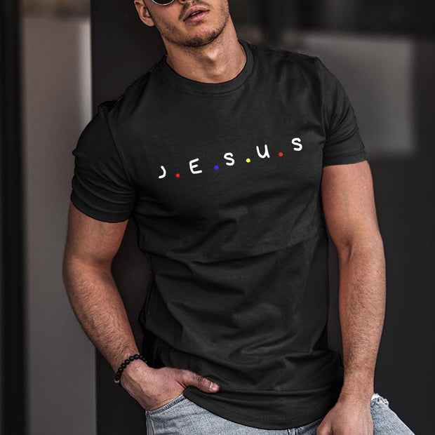 Christian Letters Casual Mens T-shirt