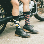 Fashion Fun Printed Men Mid Tube Cotton Socks
