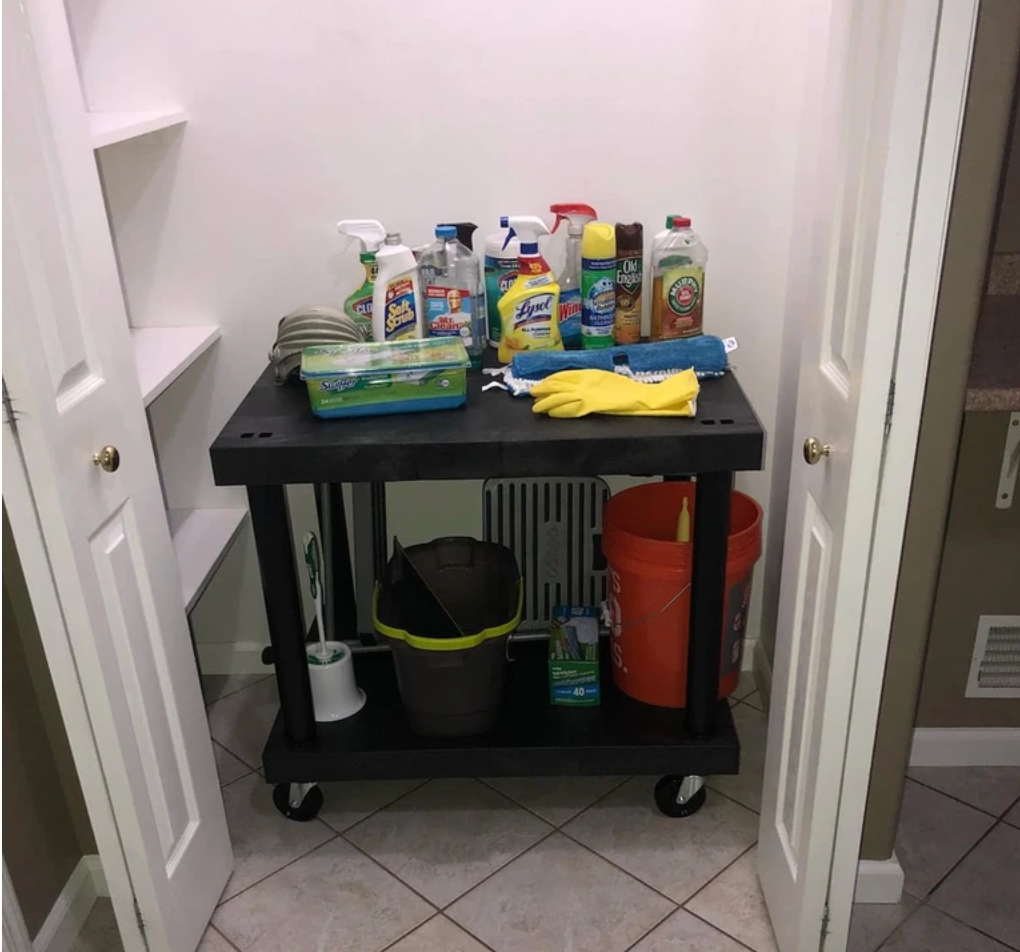 Multipurpose Home Cleaning Carts