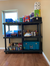 Industrial-Grade Prepper Shelves Made In USA With Heavy-Duty Recycled Plastic (HDPE)