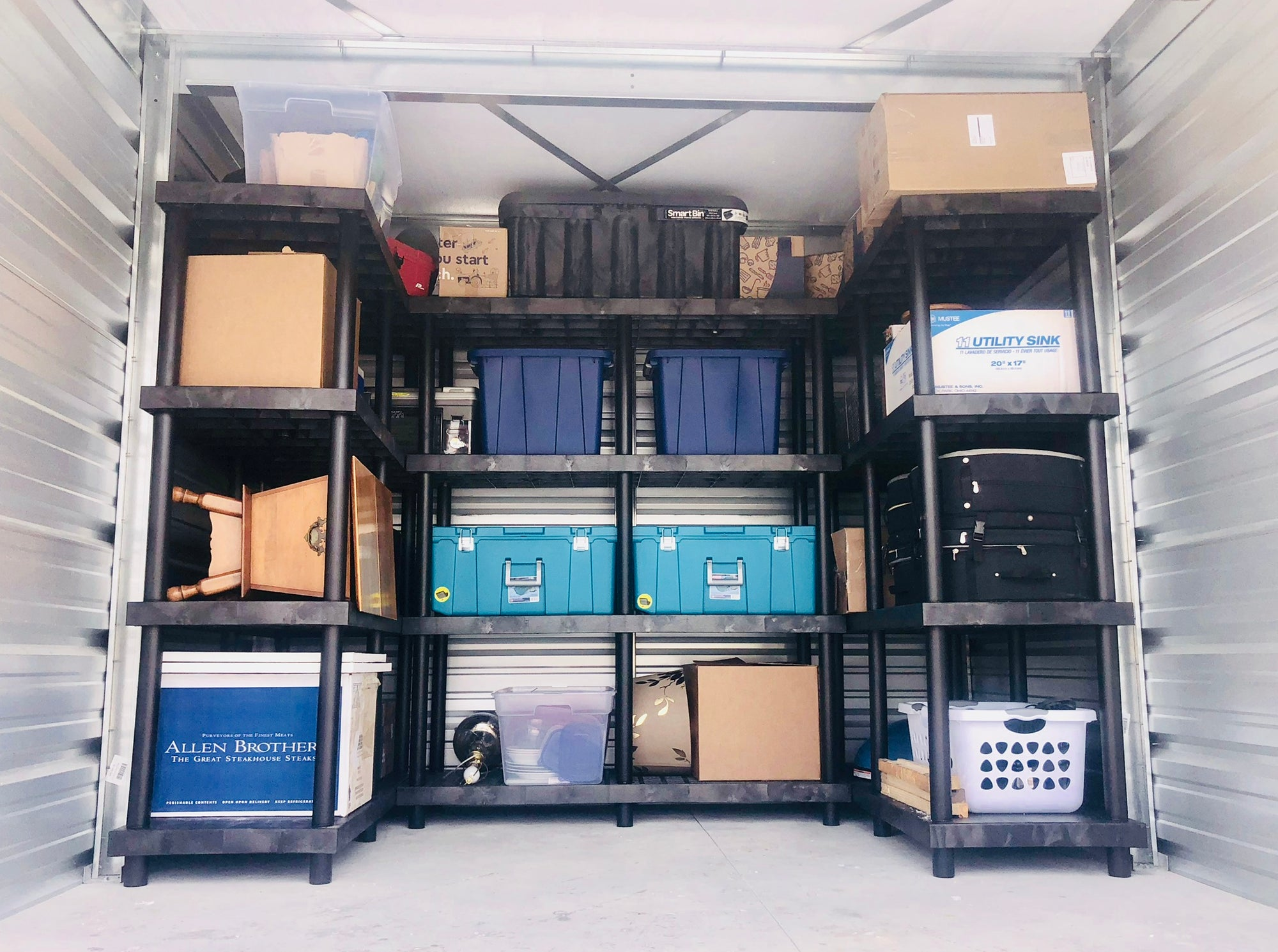 Self-Storage Units: Maximize Space, Organize, Protect & Lift Your  Possessions Off The Ground With Heavy-Duty Plastic Shelving