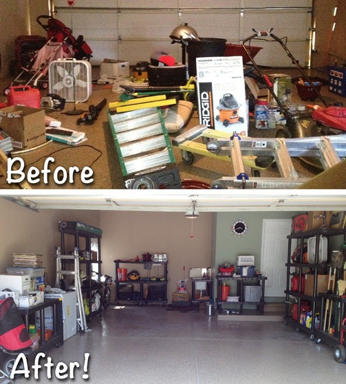 Before And After Garage Remodels: Top Shelf Garage