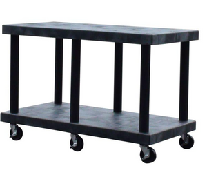 "Utility Cart & Mobile Shelving | 48""L x 24""W x 30""H 