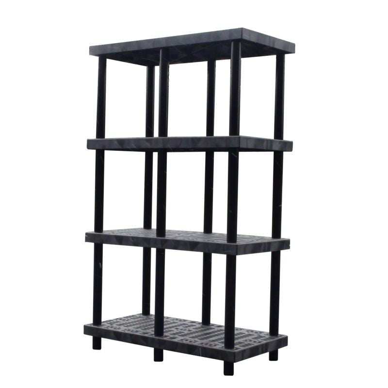 Heavy-Duty 4-Shelf Ventilated Shelving System